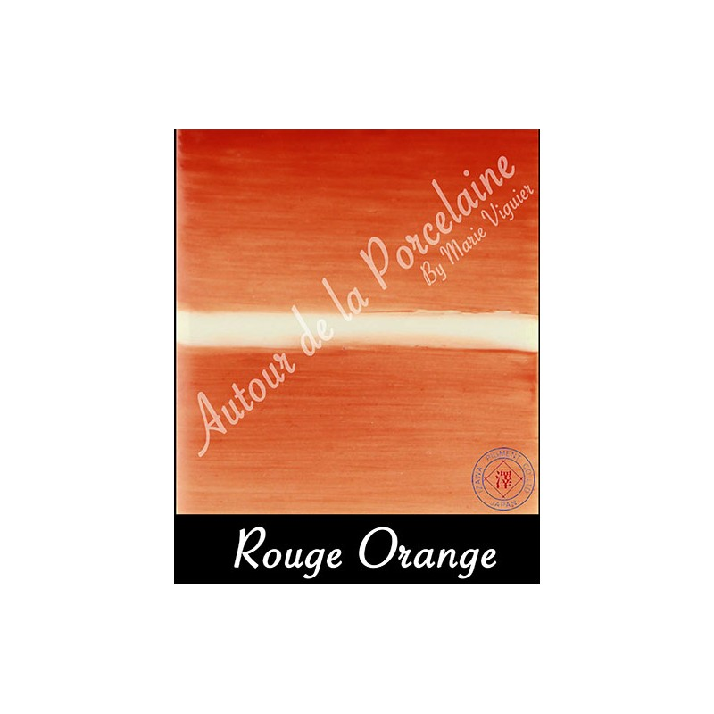 rouge orange pigment japonais couleurs japonaise pour porcelaine. Black Bedroom Furniture Sets. Home Design Ideas